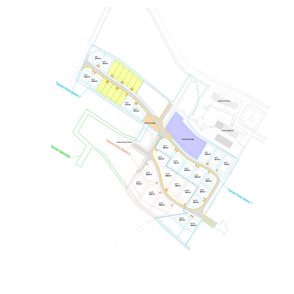 Plan Plaine d'En Gauzy